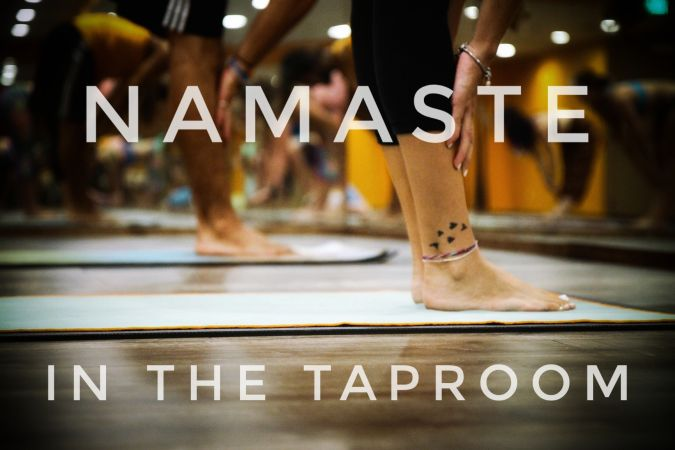 Beer & Yoga Sept 22