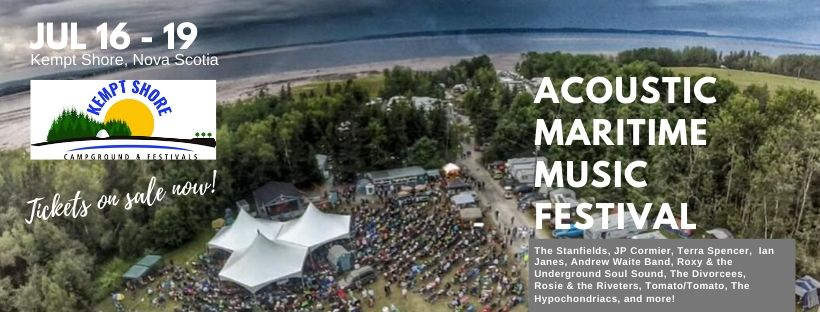 Weekend Pass - Acoustic Maritime Music Festival ft The Stanfields
